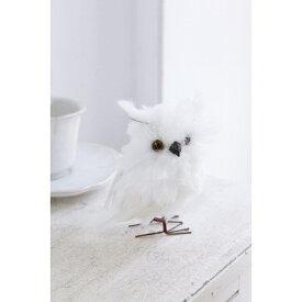 ホワイト ミニオウル CS-96 □□ BL4 COVENT GARDEN オブジェ インテリア アンティーク アニマル フクロウ 鳥 置物 コベントガーデン コベント ガーデン プレゼント