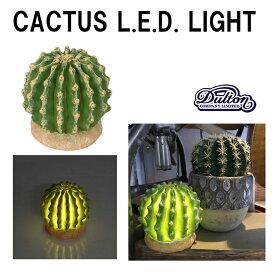 カクタス LED ライト CACTUS L.E.D. LIGHT TYPE-D G755-916D □□ AL2 DULTON カクタス LED ライト 光る サボテン 造花 フェイクグリーン オブジェ 置物 間接照明 花 フラワー ディスプレイ おしゃれ カワイイ ガーデン 雑貨 ダルトン