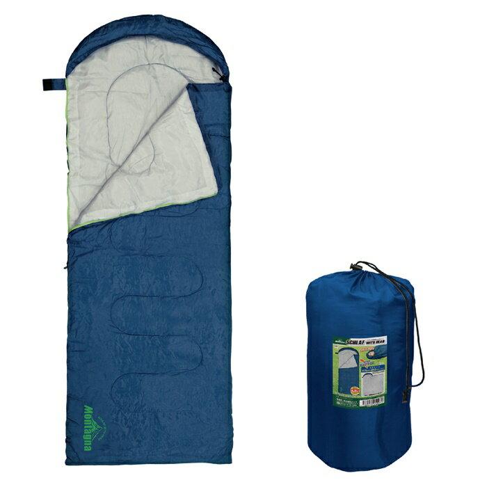 フード付シュラフ HAC2120 □□ M1 HAC ハック マミー型 封筒型 軽量 コンパクト 簡単 マット 寝具 あたたかい ぬくぬく ふかふか やわらかい テント泊 車中泊 アウトドア キャンプ ソロキャンプ 女子キャンプ ゆるキャン グランピング