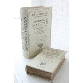 ダッチインセクトブック・2個セット KZ-17 □□ CL3 COVENT GARDEN ブック型 小物いれ シークレットボックス レトロ 古書 洋書 収納箱 ブックボックス コベントガーデン コベント ガーデン プレゼント