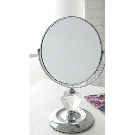 クリスタル・メイクミラー L MX-02 □□ CL4 COVENT GARDEN 鏡 ミラー かがみ カガミ スタンドタイプ 卓上 メイク おしゃれ 置き鏡 化粧鏡 立て鏡 クリスタル アンティーク コベントガーデン プレゼント