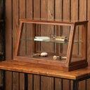 ●●EWIG ミニキャビネット 40820 ■■ FR POSH LIVING ディスプレイケース ガラス 木 木製 ウッド 小物入れ 小物収納 ナチュラル アン…