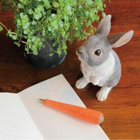 PET BANK RABBIT STAND 2095 □□ BR5 magnet ウサギ ラビット 貯金箱 コインバンク キュート バンク 動物 置物 インテリア コレクション インスタ 雑貨 プレゼント