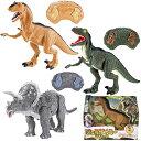 恐竜ラジコン ジュラザウラー 4728 □□ RL トップエース ラジコン 恐竜 トリケラトプス ティラノサウルス ジュラシック おもちゃ かっ…