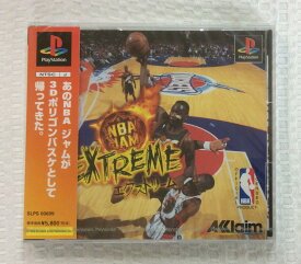 【未開封】 PSソフト NBA ジャム エクストリーム