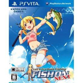 【中古】PSVITA Let's Try Bass Fishing FISH ON NEXT バスフィッシング