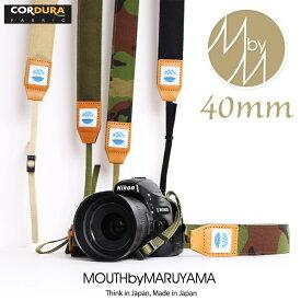 カメラストラップ 一眼レフ ミラーレス 40ミリ Delicious Camera Strap MJC13031-40mm MOUTH マウス