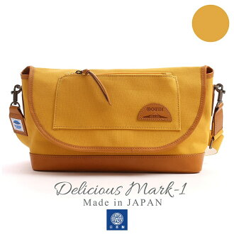 MOUTH Delicious mark-1 ショルダーバッグ マウス デリシャスマーク1 MJS11019 MUSTARD 日本製[fs01gm]