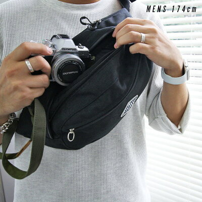 MOUTHカメラバッグ一眼レフミラーレス一眼女子おしゃれカメラバックマウスミニショルダーバッグボディバッグレンズ2本バケットマウスMSB09012インナーケースセット