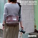 【送料無料】一眼レフ カメラバッグ ショルダーバッグ 女子 メンズ レディース BUCKET MOUTH バケットマウス おしゃれ…