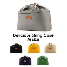 カメラケース Mサイズ delicious String Case M デリシャスストリングケースM インナーケース 巾着 一眼レフ MJC19073