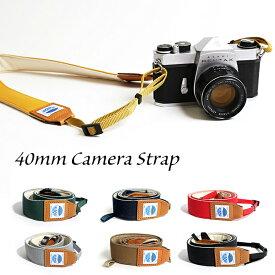 カメラストラップ 一眼レフ ミラーレス Delicious Camera Strap 40ミリ MJC13030-40mm MOUTH マウス マウス 男女兼用 日本製 おしゃれ 帆布 カメラ女子 キャンバス かわいい カメラ ネックストラップ