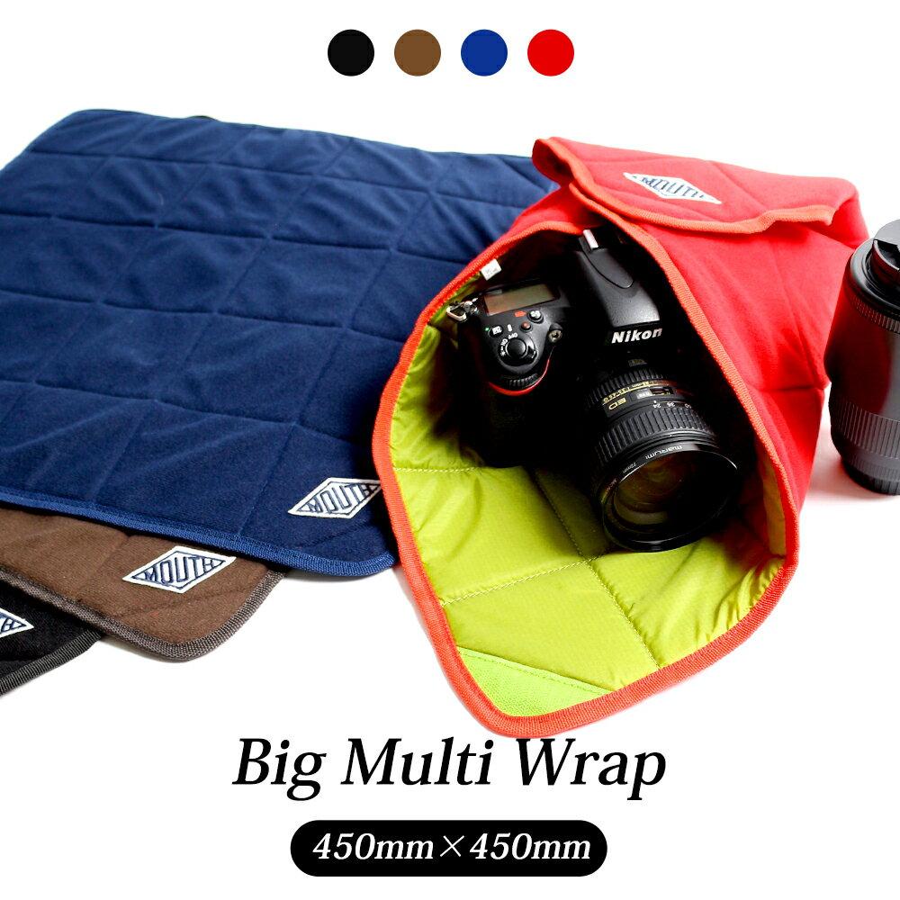 カメララップ マルチラップ 包む 一眼レフ ミラーレス MOUTH マウス BIG MULTI WRAP ビッグ マルチラップ カメララップ MMW16053-BIG
