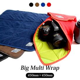 カメララップ マルチラップ 包む 一眼レフ ミラーレス MOUTH マウス カメラバッグ BIG MULTI WRAP ビッグ マルチラップ カメララップ MMW16053-BIG 保護 カバー ipad レンズ 携帯ゲーム クッション カメラケース カメラインナー