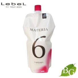 ルベル マテリア 2剤 オキシW 6% 1000mL