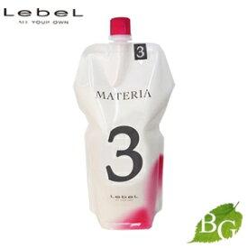 ルベル マテリア 2剤 オキシW 3% 1000mL