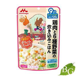 森永乳業 大満足ごはん 鶏肉と6種野菜の炊き込みごはん 120g