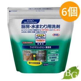 【送料無料】花王 ワイドマジックリン 業務用 12.Kg×6個セット