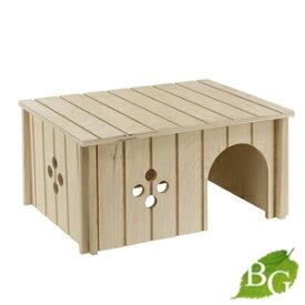 イタリアferplast社製 小動物用 木製 ハウス SIN 4646 ウッドハウス