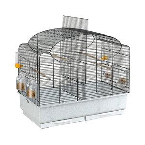 【送料無料】イタリアferplast社製 鳥かご カント ブラック Cant Black 鳥籠 ゲージ フルセット カナリア セキセイインコ 小型鳥用