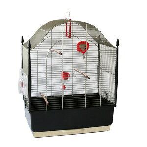 【送料無料】イタリアferplast社製 鳥かご ヴィラ アンティークブラス Villa 鳥籠 ゲージ フルセット カナリア セキセイインコ 小型鳥用