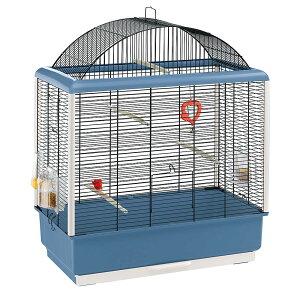 【送料無料】イタリアferplast社製 鳥かご パラディオ 4 Palladio 4 鳥籠 ゲージ フルセット カナリア セキセイインコ 小型鳥用