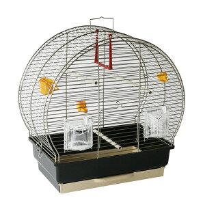 【送料無料】イタリアferplast社製 鳥かご ルナ 2 アンティークブラス Luna 2 鳥籠 ゲージ フルセット カナリア セキセイインコ 小型鳥用
