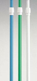 【2本からの販売】5mポール 伸縮タイプ 白・緑 ばら売り【のぼり用ポール・のぼりポール・のぼり竿】