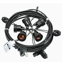T8648-5提灯コード5灯式※簡易防水型【ちょうちん用】