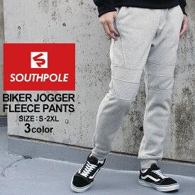 SOUTH POLE サウスポール バイカーパンツ メンズ スウェット バイカー スウェット パンツ スウェットパンツ ストリート 大きいサイズ メンズ パンツ ボトムス 夏 (USAモデル)