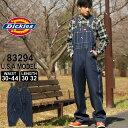[全品対象10%OFFクーポン配布] ディッキーズ Dickies ディッキーズ オーバーオール メンズ 大きいサイズ デニム [Dic…