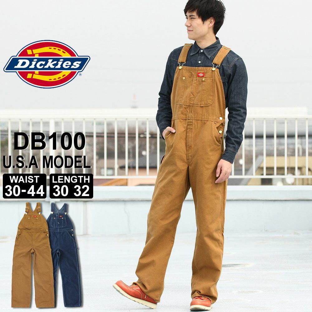 ディッキーズ Dickies オーバーオール メンズ 大きいサイズ デニム [Dickies ディッキーズ オーバーオール デニム オールインワン デニム メンズ サロペット デニム メンズ オーバーオール デニム 大きいサイズ メンズ] (USAモデル) 父の日プレゼント