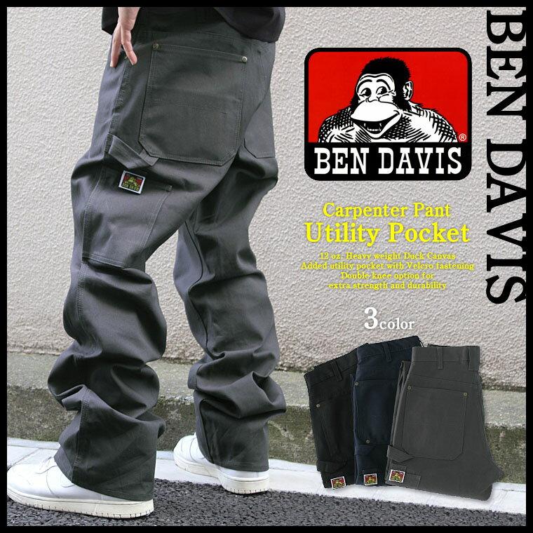 [ベンデイビス] [BENDAVIS] ベンデイビス ペインターパンツ メンズ ワークパンツ メンズ 【BEN DAVIS ベンデイビス パンツ ペインターパンツ デニム ダック生地 大きいサイズ メンズ アメカジ ブランド ベンデイビス ワークパンツ ben davis パンツ】 (USAモデル)