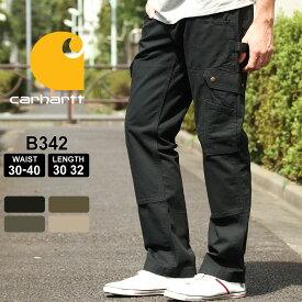 カーハート カーゴパンツ リップストップ メンズ 大きいサイズ B342 USAモデル|ブランド Carhartt