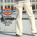 ディッキーズ Dickies ペインターパンツ メンズ デニム メンズ 【Dickies ディッキーズ ペインターパンツ デニム ジーンズ メンズ 大きいサイズ メンズ パンツ ホワイト 白 ペインタ