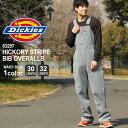 ディッキーズ オーバーオール デニム ヒッコリー 83297 メンズ レディース|股下 30インチ 32インチ|ウエスト 30〜44…