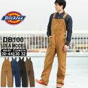 ディッキーズ オーバーオール デニム ダックキャンバス DB100 メンズ レディース|股下 30インチ 32インチ|ウエスト …
