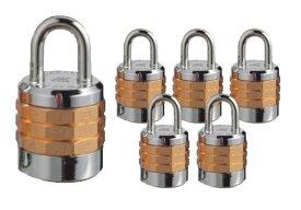 【送料無料】《 セット販売:6個 》十角符号錠(可変式) 2880シリーズ 1パック [2880-30] - アルファ(Alpha)