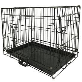 【送料無料】【ポイント2倍】ペット 折り畳み ケージ ペットケージペットゲージ 犬用 大型犬 中型犬 GY07-L[8004]-SIS ペットサークル ペットゲート ケージ 小屋 サークル ゲージ