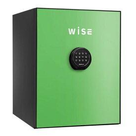 【送料無料】【ポイント5倍】WISEプレミアムセーフ 耐火金庫 グリーン [WS500AL-G] - ディプロマット