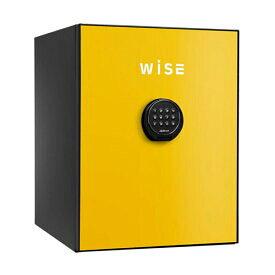 WISEプレミアムセーフ 耐火金庫 イエロー [WS500AL-Y] - ディプロマット