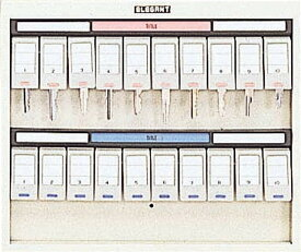 【ポイント2倍】ナカバヤシ[NKS-20]-シリンダーロック付きキーステーション(20個収容) ・