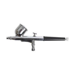 【ポイント2倍】プラモデル、ジオラマの塗装に 充電式 どこでも使えるコンプレッサーエアブラシセット[MINIABR3]-サンコー 工具 クリエーター メイク ネイル カスタムペイント