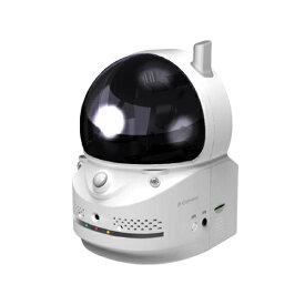 防犯カメラ ペット見守り 留守番Wi-Fi対応旋回式ネットワークカメラ