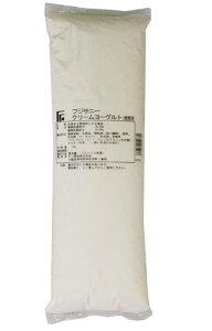 不二製油 クリームヨーグルト 1kg 【菓子材料・パン材料・フラワーペースト・ヨーグルトクリーム・フィリング・業務用】