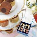 ブールミッシュ トリュフ・マロンペア(4個入り)常温配送 焼き菓子《B-TM4》ブライダル 内祝 出産祝い 結婚祝い 引き出物 プレゼント ギフト バレンタイン
