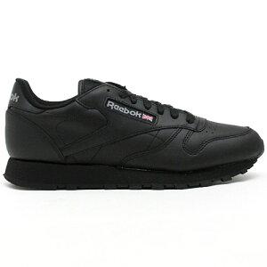 20FW reebok CL LTHR INTブラック リーボック クラシックレザー スニーカー 靴 シューズ メンズ 男性用 クラシック 送料区分:S [SALE]