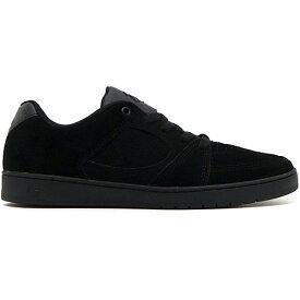 es ACCEL SLIM Black/Black/Black エス アクセル スリム 国内正規品 靴 スニーカー スケシュー スケートボード メンズ 男性用 送料区分:S [SALE]