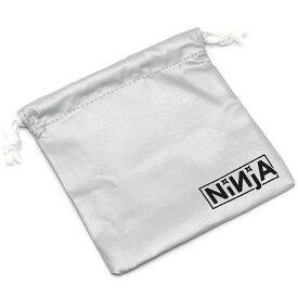 NINJA MINI POUCH Silver ニンジャ ミニ ポーチ 国内 スケートボード ミニ巾着 ツール 小物 収納 送料区分:S