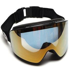 2022 DRAGON PXV SPLIT BLACK LL J.GOLD ION ドラゴン ピーエックスブイ 国内正規品 ジャパンルーマレンズ スノーボード ゴーグル アジアンフィット メンズ 男性用 21-22 送料区分:S